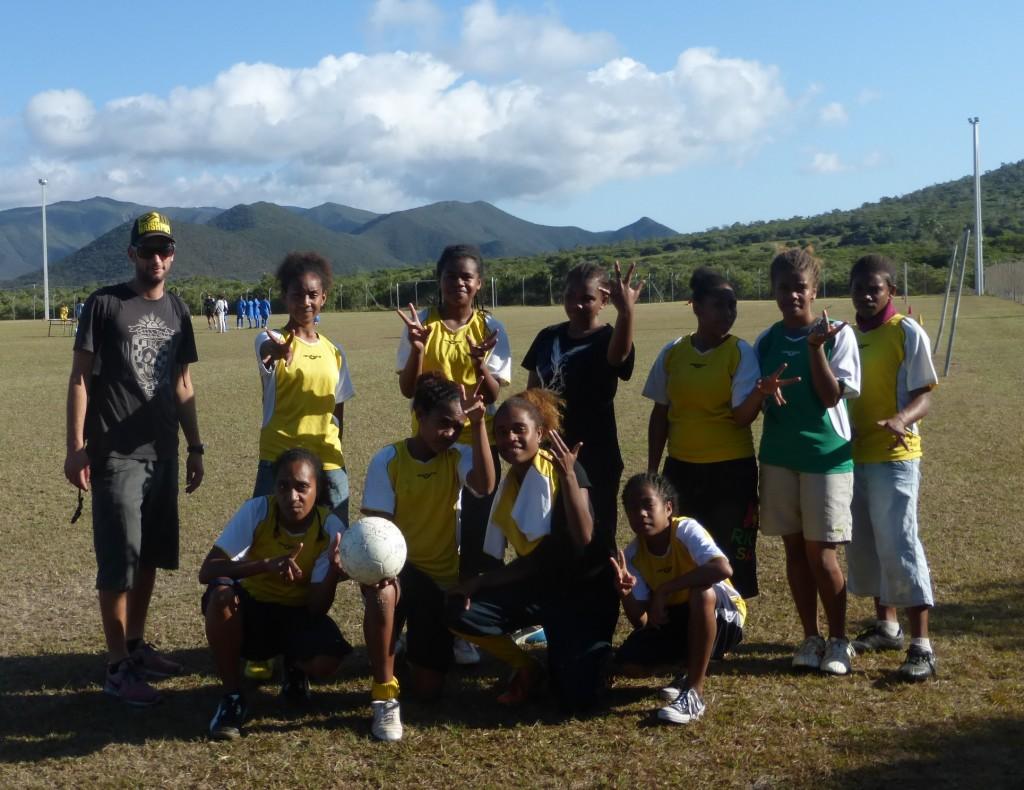 Finales territoriales de football à Koumac